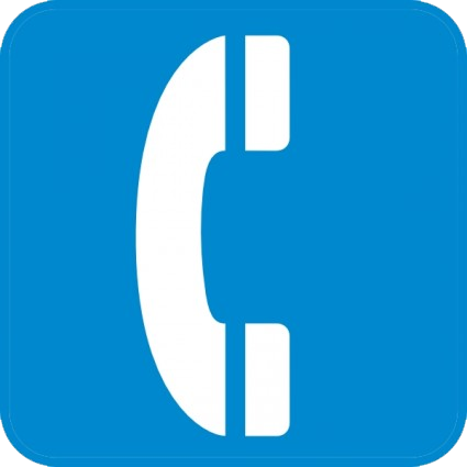 phone symbol transparent